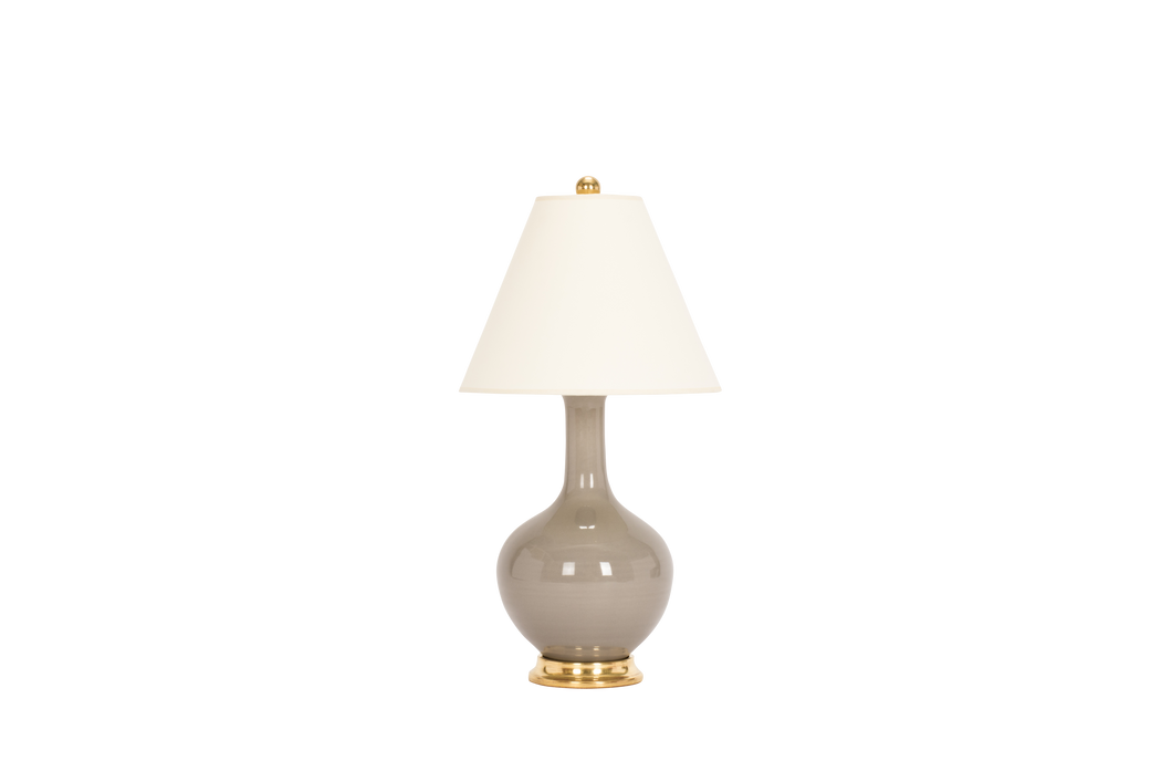 Lindsay Lamp in Grey