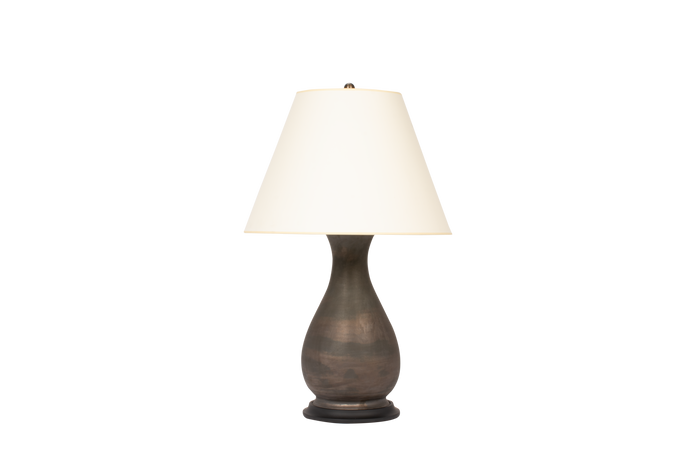 Louisa Medium Lamp in Matte Bronze