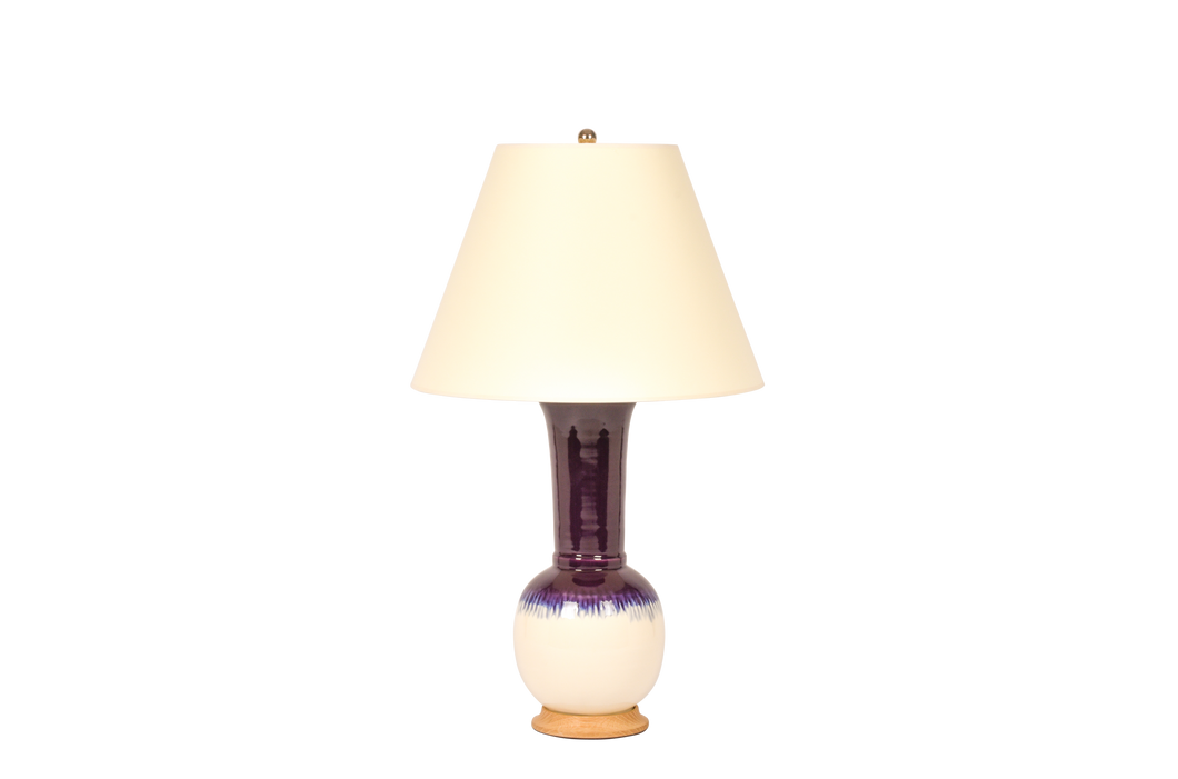 Alexandra Lamp in Plum Ombre