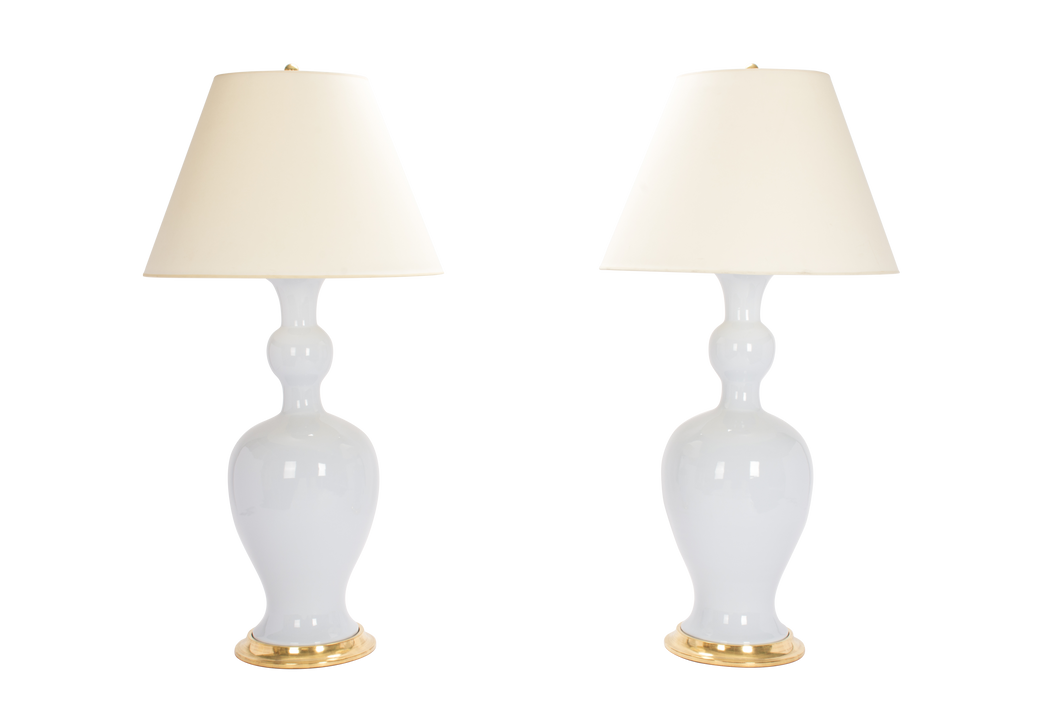 Marjorie Lamp Pair in Hope Blue