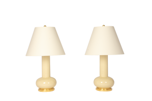 Ashley Medium Lamp Pair in Sesame