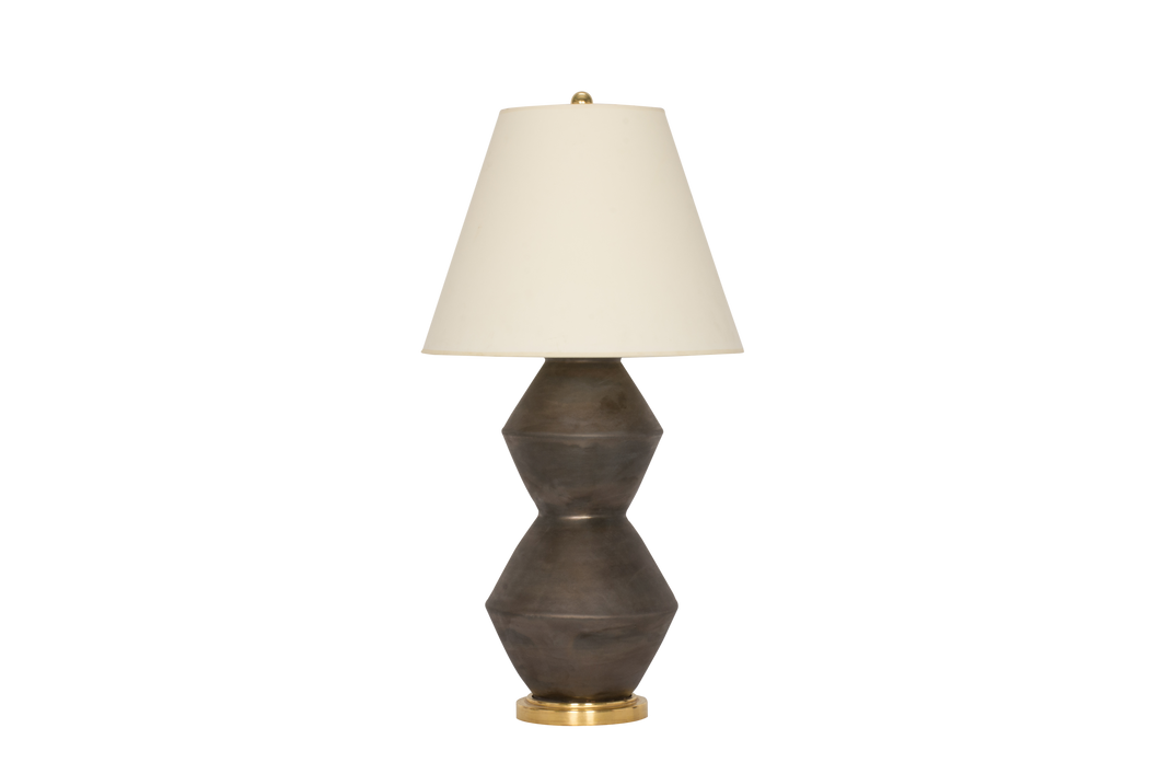 David Medium Lamp in Matte Bronze
