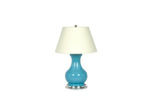 Hann Medium Lamp in Light Blue
