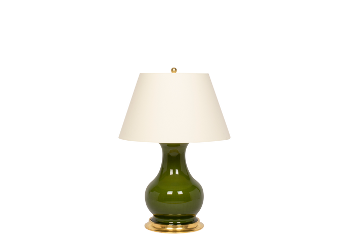 Hann Medium Lamp in Spruce