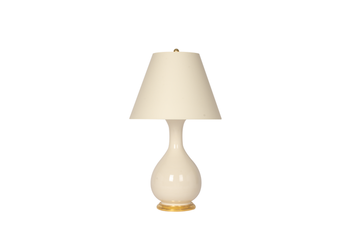 Katie Medium Lamp in Blanc de Chine