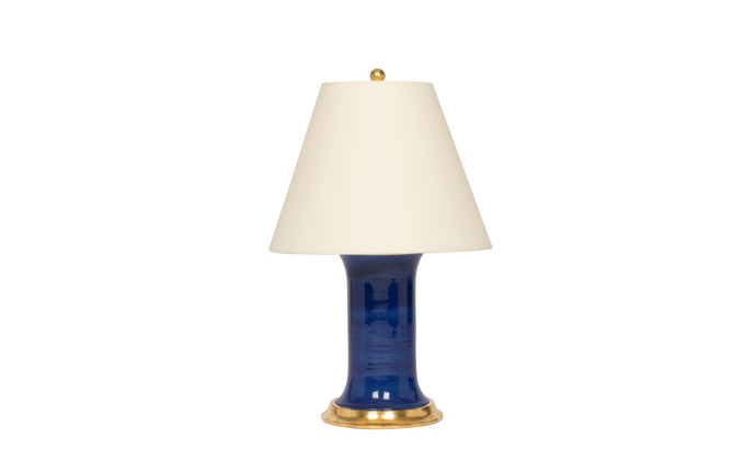 Patricia Medium Lamp in Sapphire Blue