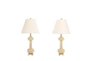Hadley Medium Lamp Pair in Sesame