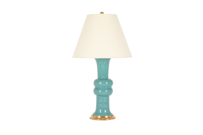 Sophie Medium Lamp in Aqua