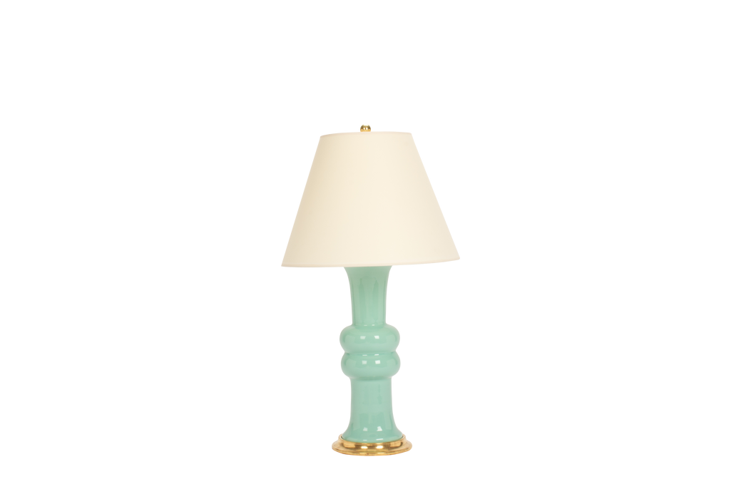 Sophie Medium Lamp in Pale Blue Green