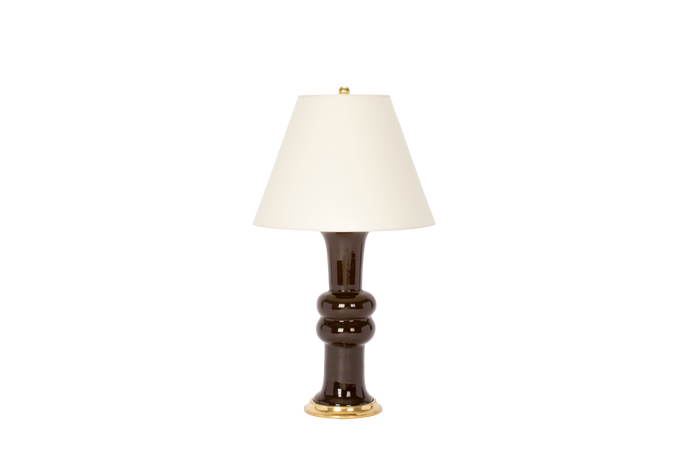 Sophie Medium Lamp in Walnut