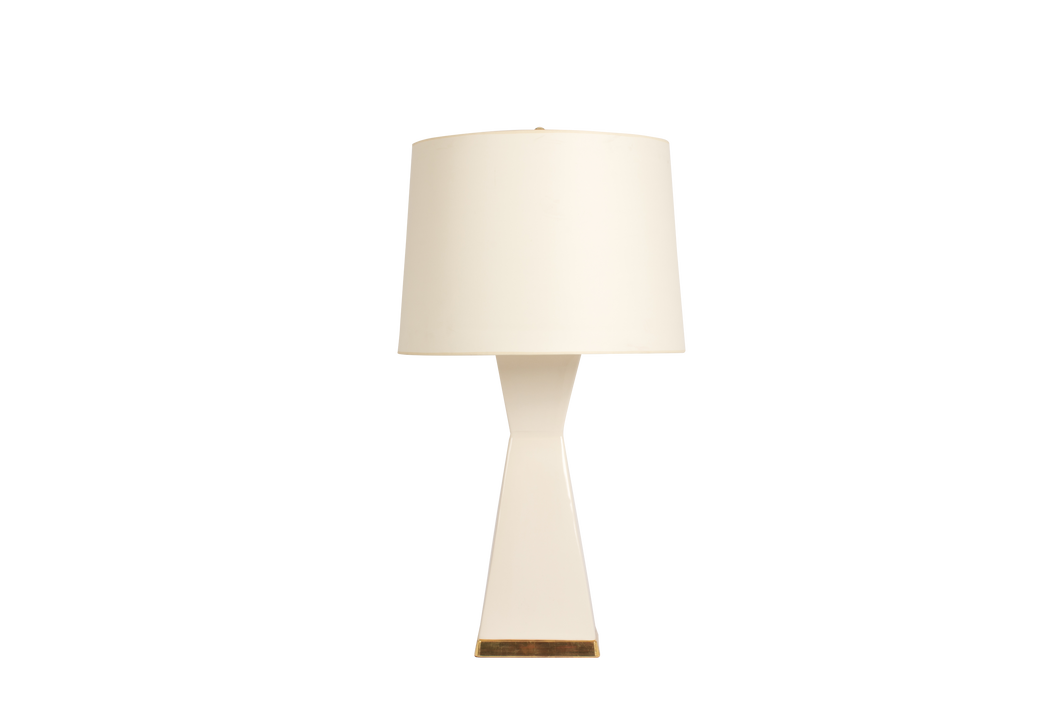 Melissa Lamp in Blanc de Chine