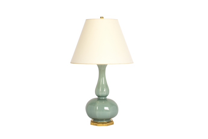 Michael Double Gourd Lamp in Duck Egg