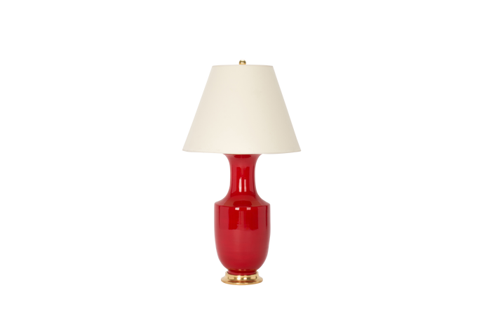 Ming Lamp in Red