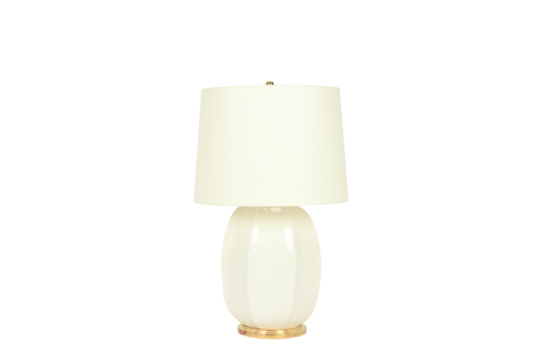 Single Sarah Lamp in Clear