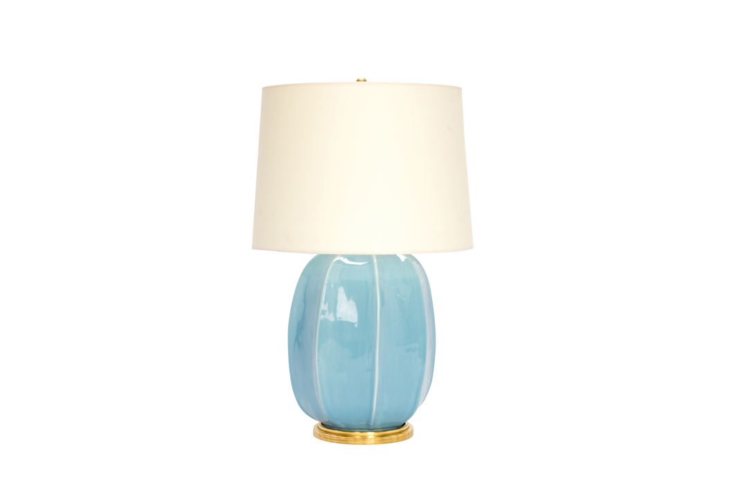 Single Sarah Lamp in Hydrangea