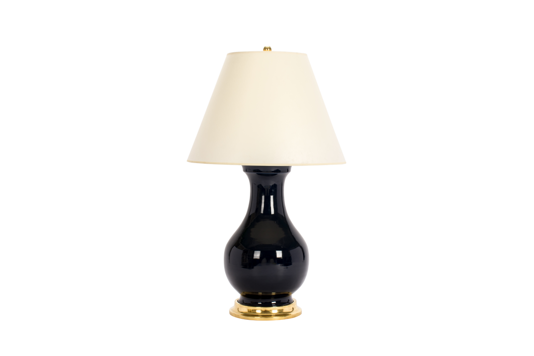 Hann Large Lamp in Navy