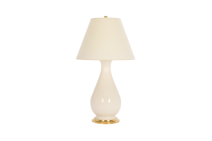 Louisa Large Lamp in Clear