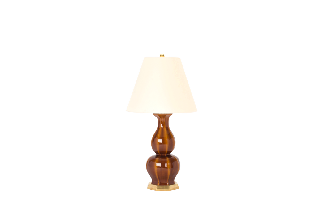 Alexander Small Lamp in Amber