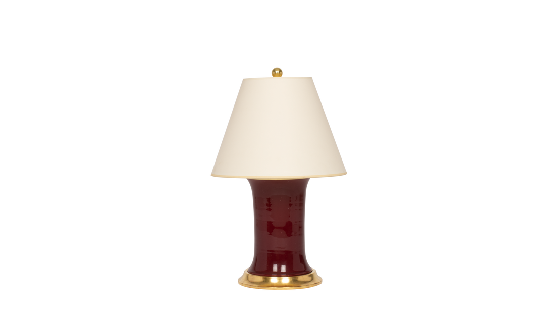 Patricia Small Lamp in Claret