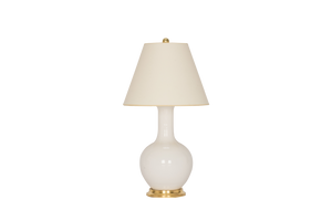 Single Gourd Small Lamp in White