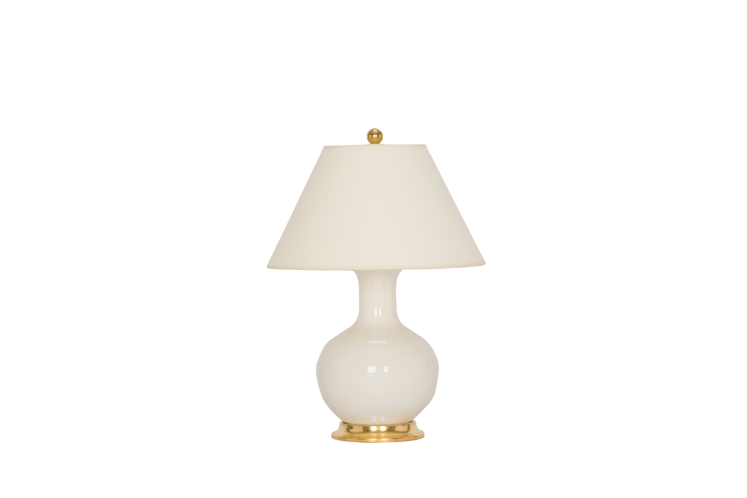 William Small Lamp in Blanc de Chine