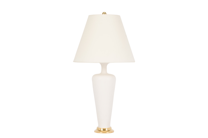 Vase Small Lamp in Matte White
