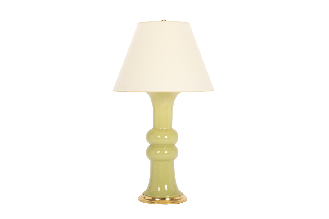 Sophie Large Lamp in Green Celadon