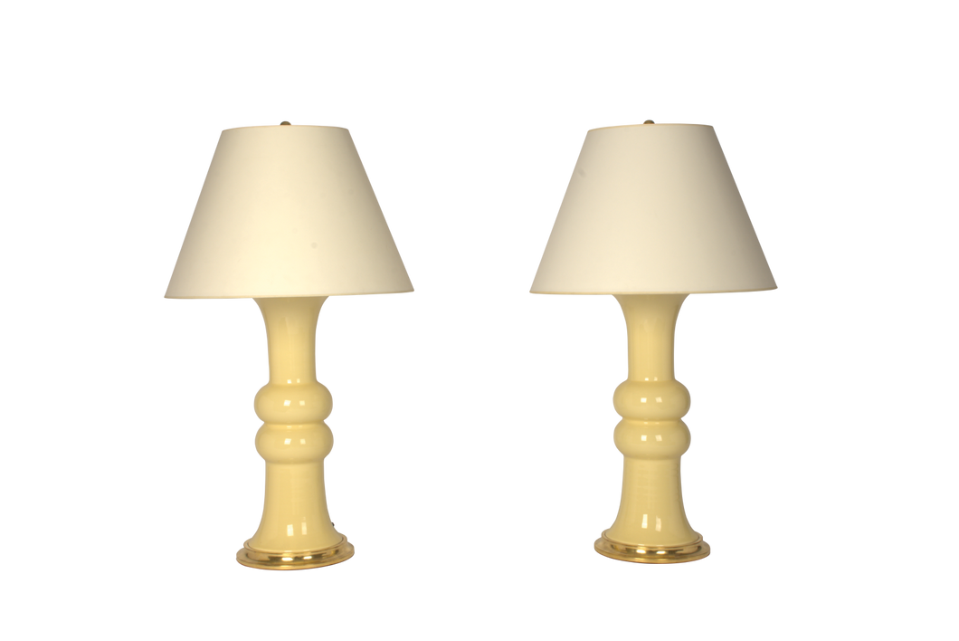 Sophie Large Lamp Pair in Butter