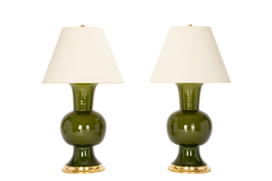 Todd Lamp Pair in Spruce