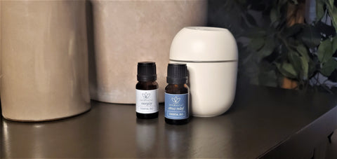 Aromanthi Essential Oils for Energy and Stress-Relief