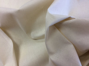 Calico Quilters Weight Natural 100% Cotton