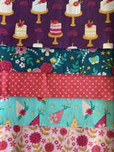 Load image into Gallery viewer, Floral Birthday Mix Fat Quarter Bundle  100% Cotton