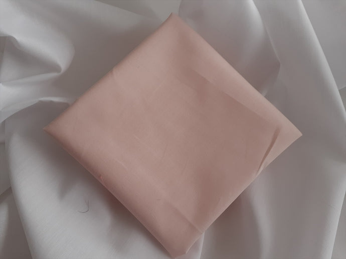 Light Peach Poly Cotton