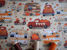 Load image into Gallery viewer, 3 Wishes Harvest Campers Camper on a Cream Background