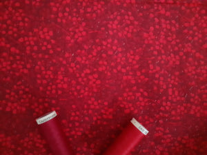 Berry Nice By P&B Textiles Red on a Burgundy Background 100% Cotton