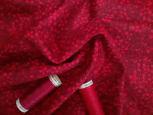 Load image into Gallery viewer, Berry Nice By P&B Textiles Red on a Burgundy Background 100% Cotton