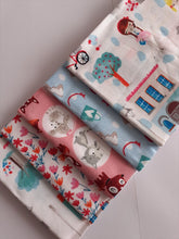 Load image into Gallery viewer, Girls Day Out Accessories Cats & Flowers Fat Quarter Bundle 100% Cotton