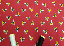 Load image into Gallery viewer, Life Size Bees on a Cerise Background Digital Print 100% Cotton
