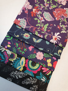 Hip Hop Floral Mix Fat Quarter Bundle  100% Cotton