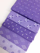 Load image into Gallery viewer, Essential Trends Purple & Lilac Mix Fat Quarter Bundle  100% Cotton