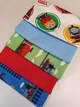 Load image into Gallery viewer, Thomas The Tank Engine & Friends Fat Quarter Bundle 100% Cotton