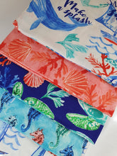 Load image into Gallery viewer, Sea Life Mix Fat Quarter Bundle  100% Cotton
