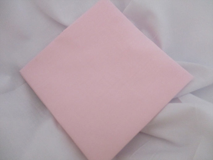 Plain Baby Pink Poly Cotton