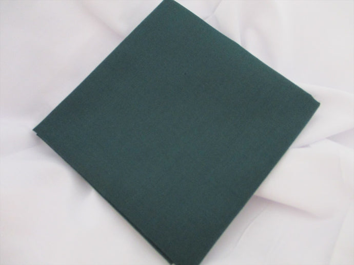 Plain Bottle Green Poly Cotton