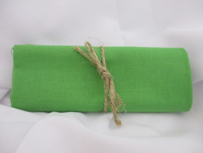Plain Lime Green 100% Cotton Fabric