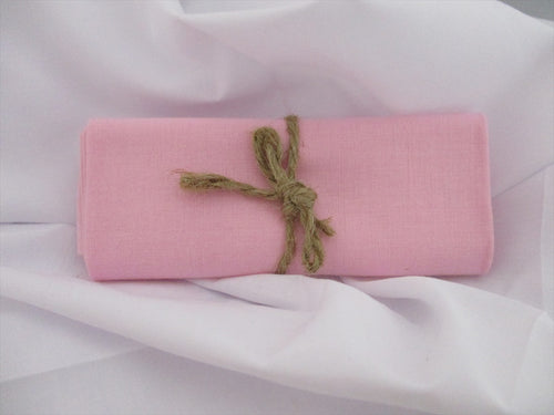 Plain Pale Pink 100% Cotton Fabric