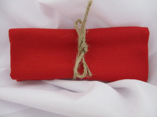 Plain Red 100% Cotton Fabric