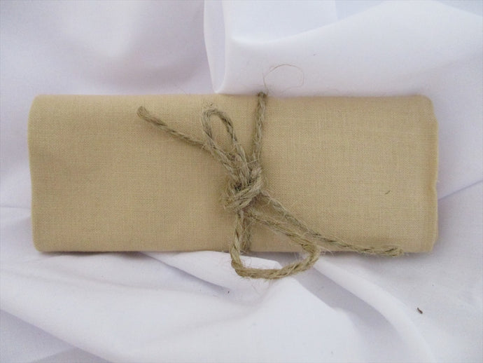 Plain Beige 100% Cotton Fabric