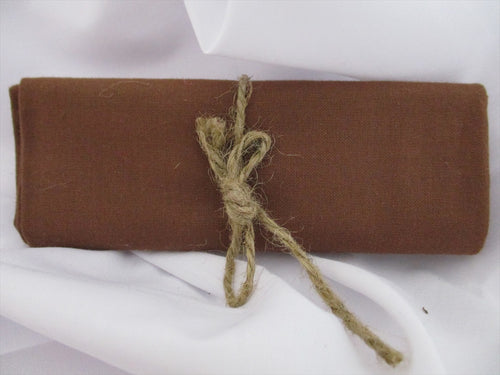 Plain Rusty Brown 100% Cotton Fabric