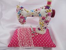 Load image into Gallery viewer, Free Sewing Machine Pin Cushion Pattern designed by Jane O'Connell